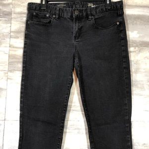 J.Crew Toothpick 30T-Ankle Jeans Black size 30